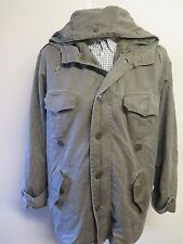 REPRO GERMAN ARMY CLASSIC PARKA Military Combat Jacket Coat Olive L 42-44""