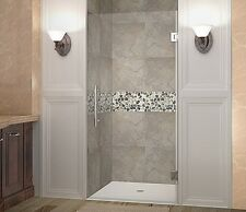 "ASTON GLOBAL Aston Cascadia 36"" x 72"" Completely Frameless Hinged Shower Door"