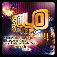Solo Remixes 2011 . EXLIBRARY *NO CASE DISC ONLY*