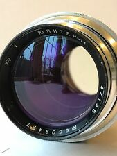 jupiter 11 4/135 telephoto lens for SLR camera m39