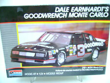 "MONOGRAM 1988 "" DALE EARNHARDT'S "" #3 GOODWRENCH MONTE CARLO  # 2900 MODEL KIT"
