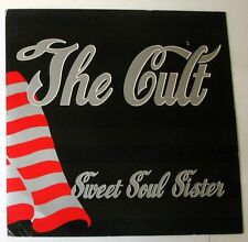 """THE CULT - SWEET SOUL SISTER - THE RIVER - 45gg 7"""" NUOVO"""