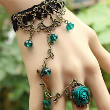 Hot New Women Gothic Lace Bracelet Bangle Retro Jewelry Women Prom Accessory