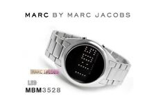 MARC BY JACOBS MEN'S WITHOUT EXPRESSION SILVER WATCH MBM3528