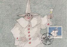 Liechtenstein FDC Ersttagsbrief Karte 1998 Grußmarken Mi.1175