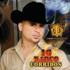 LARRY HERNÁNDEZ - 16 Narco Corridos [I-Tunes Exclusive] CD NEW/ STILL SEALED