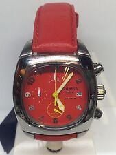 Orologio Locman 1972 Chrono Quarzo Rosso 39mm 490€ Di Listino Scontatissimo New