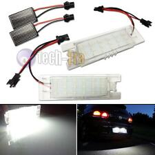 CAN-bus 18-SMD Number/License Plate LED Light Bulbs Vauxhall Opel Astra H 04-09