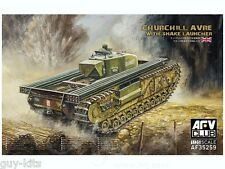 "Char moyen CHURCHILL AVRE ""SNAKE LAUNCHER"" - KIT AFV CLUB 1/35 n° 35259"