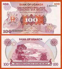 P19b  UGANDA  100 Shillings  1982  UNC