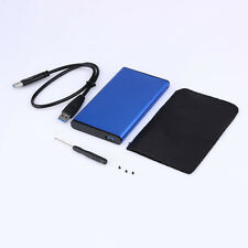 Aluminum USB 3.0 2.5 inch SATA External Hard Drive HD Enclosure/Case Box New