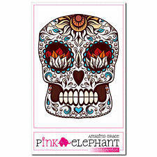 Voody 05 - A4 - Aufkleber - 20 cm - Dia de los muertos Day of the Dead Sticker