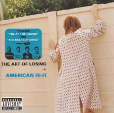 AMERICAN HI-FI - The Art Of Losing (UK 11 Tk Enh CD Album)