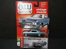 Auto World Chevrolet Impala SS 1966 Blue 64042C
