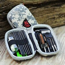 New AR-15 M16 M4 223 Gun Rifle Cleaning Kit Weather Proof Case Tactical Compact