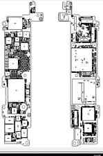 Apple  iPhone SE a1723 schematic diagram with board view