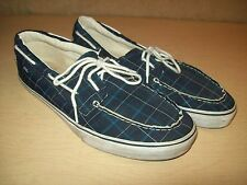 Mens~Vans~Off the Wall~Plaid~Sneakers~Size 12~Blue~Shoes~