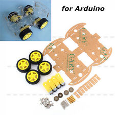 Hot Sale DC 3-6V 4WD Smart Robot Car Chassis Kits fr arduino with Speed Encoder