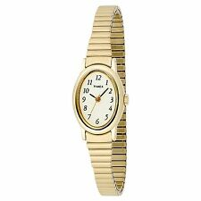 Timex T21872, Women's Gold Tone Cavatina Expansion Watch, T218729J