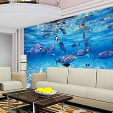 3D Ocean World Wallpaper Bedroom Living Room Mural TV Background Wall Decor