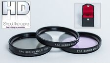 3PC HD Glass Filter Kit for Sony SAL-85F28 85mm Lens