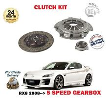 FOR MAZDA RX8 1.3i 2.6 ROTARY 4/2008-   NEW CLUTCH KIT PLATE COVER BEARING