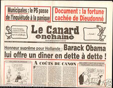 CANARD ENCHAINÉ Birthday Newspaper JOURNAL NAISSANCE 12 FEVRIER FEBRUARY 2014