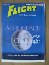 FLIGHT AIRCRAFT SPACECRAFT MISSILES MAGAZINE AUGUST 5th 1960 SPACE SPECIAL