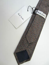 Paul Smith Tie Very Rare Print 6cm 100% Cotton Made in Italy