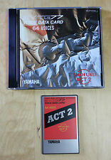 "YAMAHA SY77 Card ""SHOFUKU ACT2"" VC7702W 