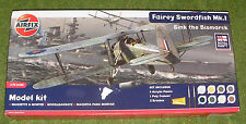AIRFIX MODEL KIT 1/72nd SCALE FAIRY SWORDFISH MK.1 SINK THE BISMARK A50133