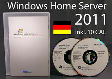 Microsoft Windows Home Server 2011 + 10 CAL Vollversion 64-Bit OVP