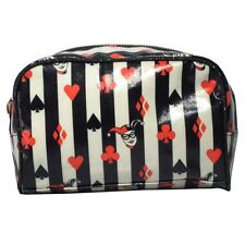 Official DC Originals Harley Quinn Retro Make-Up Toiletries Bag Case - New Gift