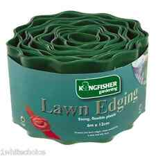 6m Flexible Plastic Garden Grass Path Lawn Edging 12cm Green Edge Gravel Border