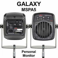 GALAXY MSPA5 Mic Stand Mount Active Stage Monitor with Hardware $4 Instant Off