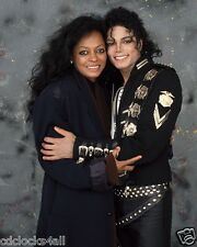 Diana Ross & Michael Jackson 8 x 10 / 8x10 GLOSSY Photo Picture