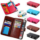 New Powerful Wallet Photo Frame Leather Stand Cover 9 Card Slots Purse Case DKS