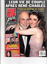 CELINE DION  RARE 7 JOURS MAGAZINE VOLUME 13 MARCH 2003 WITH RENE
