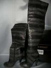 Victorias Secret Sexy Thigh High Boots Python NWT 5