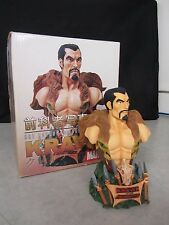 Art Asylum's Rogues' Gallery ~ Kraven Mini-Bust ~ 1943/6500 ~ 2002 Marvel