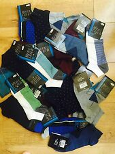 20 pairs mix colour high quality Men's Designer Trainer Liner Ankle Socks  KDFSX