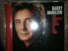 Barry Manilow - The Greatest Love Songs of All Time - Barry Manilow CD 68VG The
