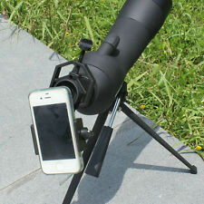 Spotting Scope Astronomical Telescope Universal Stand Mount for Cell Phone New