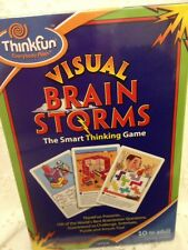 Think Fun Visual Brain Storms Smart Thinking Card Game Ages 10+ Christmas gifts