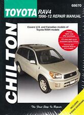 1996 - 2012 Toyota RAV4 Repair Manual 2004 2005 2006 2007 2008 2009 2012 2215