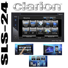 Clarion vx402e multimedia doble DIN CD DVD mp3 radio touch screen Bluetooth USB
