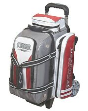 Storm Rolling Thunder 2 Ball Double Roller Bowling Bag Grey/Red/White