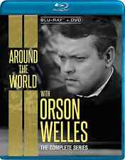 Around The World With Orson Welles: The Complete Series Blu-ray/DVD combo