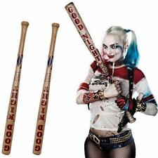 "34"" Harley Quinn Fancy Dress up Baseballschläger Cosplay Kostüm Baseball Bat NEU"