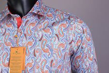 New Etro Button-Front Etro Casual Men's Shirt Size XXL(44)